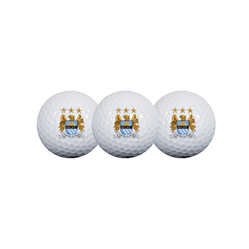 Manchester City Golf Ball Pack Of 3