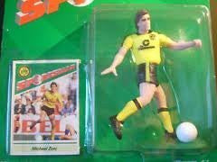 Sportstars (Starting Lineup) 1988 Michael Zorc - BVB Borussia Dortmund - Football (Soccer) Figure with Card