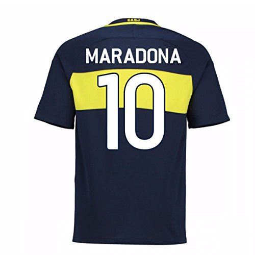 2016-17 Boca Juniors Home Shirt (Maradona 10)