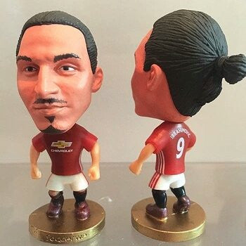 "Manchester United #9 Zlatan Ibrahimovic Toy figure 2.5"" (Home)"