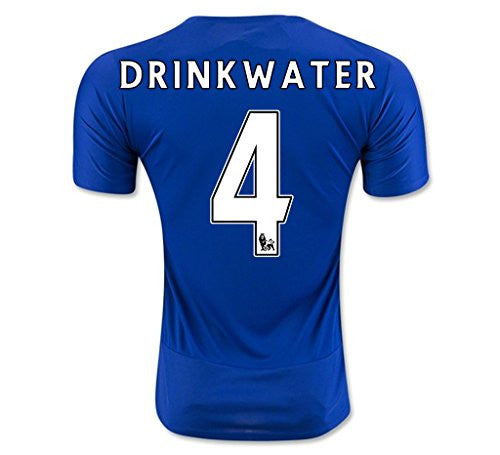 Leicester City F.C. Home Club Jersey '#4 Drinkwater'