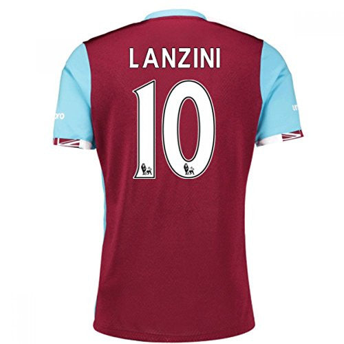 West Ham Home Shirt (Lanzini 10) 2016-17