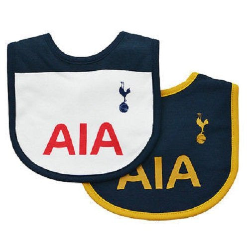 Tottenham Hotspur FC Authentic Baby Bibs 2 Pack