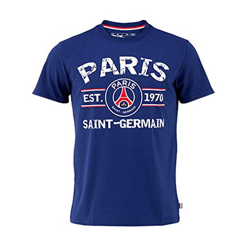 PSG - Official Paris Saint-Germain '1970' T-Shirt
