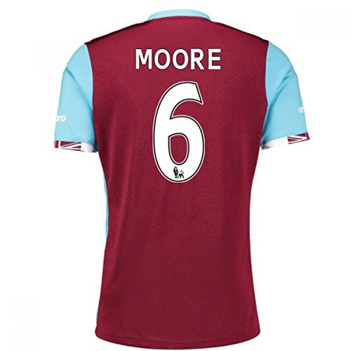 West Ham Home Shirt (Moore 6) 2016-17