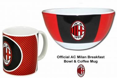 AC Milan Bowl & Mug Set