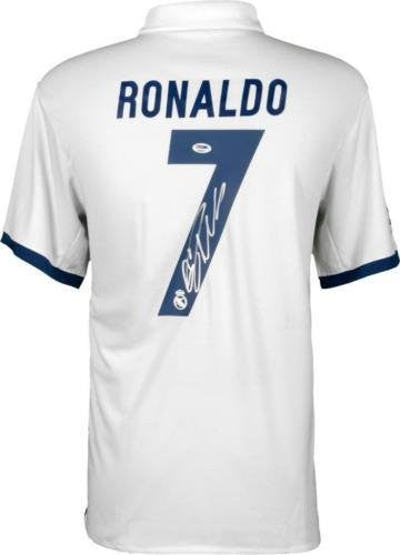 Cristiano Ronaldo Signed Jersey 2016-17 Real Madrid