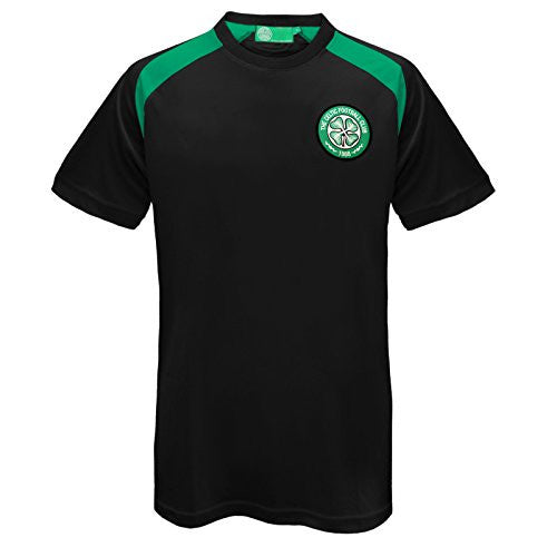 Celtic FC Official Training Kit Shirt (Black)