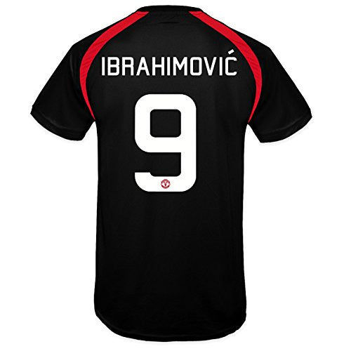 Manchester United FC 'Zlatan Ibrahimovic 9' Black Training Kit