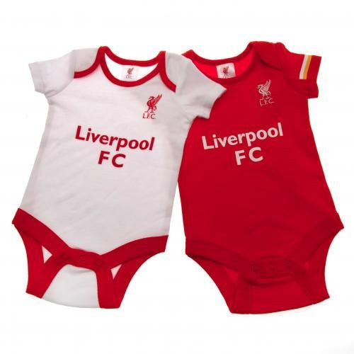 Liverpool FC AuthenticBaby Onesies 2 Pack
