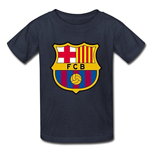 Barcelona Boys And Girls 100% Cotton T-Shirt