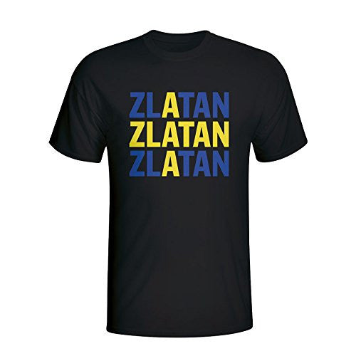 Zlatan Ibrahimovic Sweden Player Flag T-Shirt