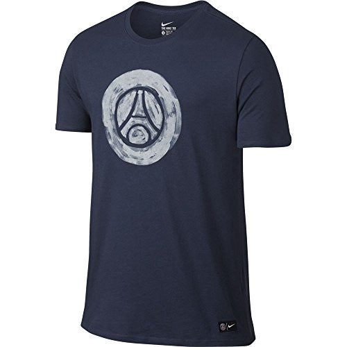2016-2017 PSG Nike Core Crest Tee (Navy)