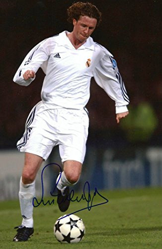 Steve McManaman autographed, In-Person signed photo