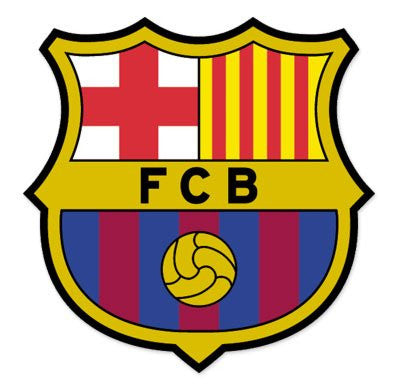 FC Barcelona Car Sticker