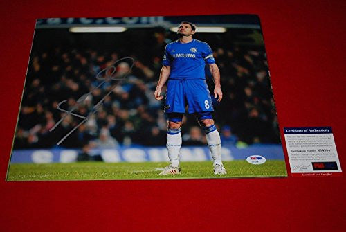 Signed Lampard Photo - chelsea england world cup 11x14