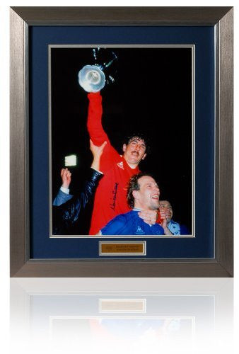 British Sports Museum Large Neville Southall hand signed photograph.