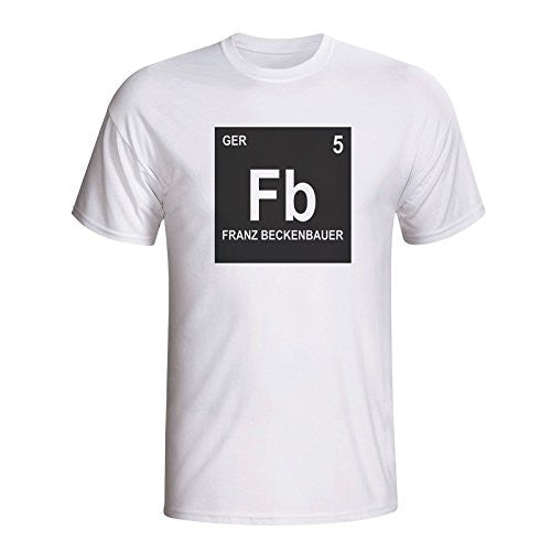 Franz Beckenbauer Germany Periodic Table T-Shirt