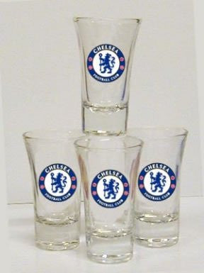 Chelsea FC Shot Glasses