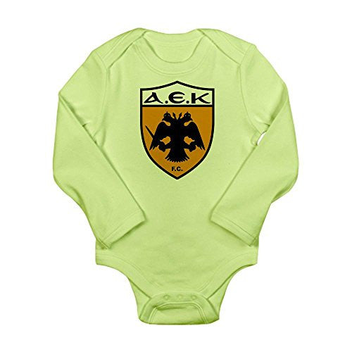 AEK Athens Long Sleeve Infant Bodysuit