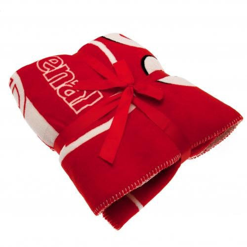 Arsenal FC Sherpa Fleece Blanket