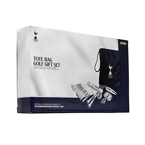 Official Tottenham Hotspur FC Tote Bag Golf Gift Set