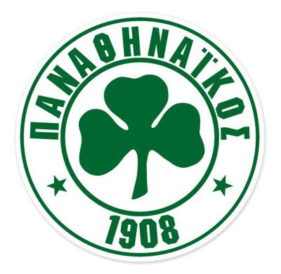 Panathinaikos FC Car Sticker - 4""