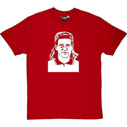 Chris Waddle Red Men's T-Shirt