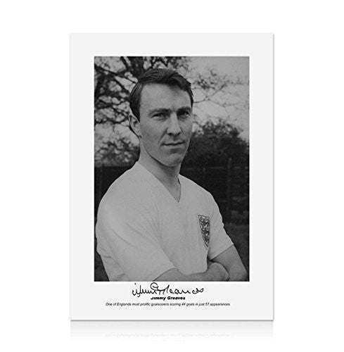 Jimmy Greaves Signed Photograph - England Legend