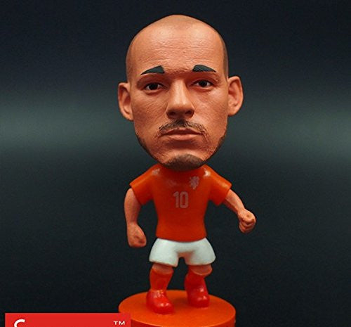 Netherlands Wesley Sneijder #10 Toy Figure 2.5""