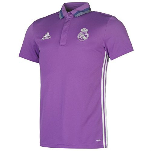 Real Madrid Adidas Polo Shirt (Purple) 2016-2017
