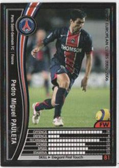 Pedro Miguel Pauleta / WCCF 05-06 / Paris Saint-Germain / Black / 127 /