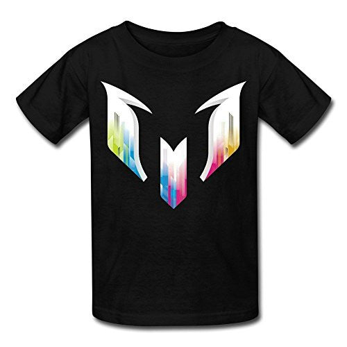 Youth Lionel Messi FC Barcelona Logo T-Shirt
