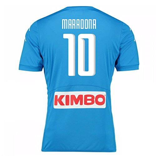 2016-17 Napoli Replica Home Shirt (Maradona 10)