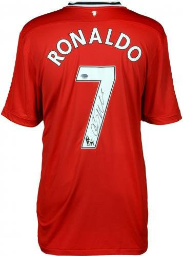 new products b2e84 f4dcc Cristiano Ronaldo Manchester Autographed United Jersey - ICONS - Fanatics  Authentic Certified - Autographed Jerseys