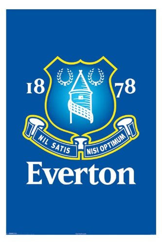 Football Posters: Everton - Crest Poster
