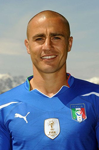 Fabio Cannavaro Spun Silk Fabric Cloth Wall Poster Print (20x13inch 50x33cm)