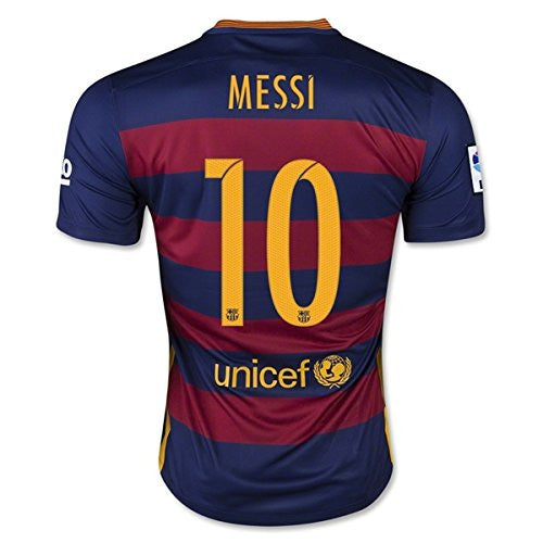 Barcelona Home Shirt (Messi 10) 2015-16