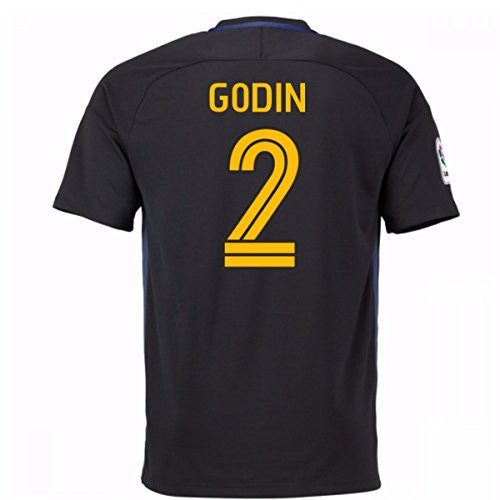 2016-17 Atletico Madrid Away Shirt (Godin 2)