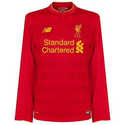 New Balance Liverpool FC 2016/17 Long Sleeve Home Jersey