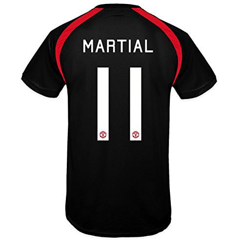 Manchester United FC 'Martial 11' Black Training Kit