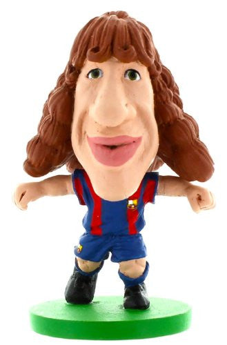 Barca Toon Carles Puyol Home Kit Figure