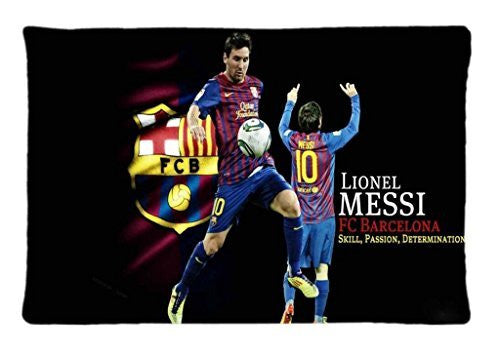 FC Barcelona Lionel Messi Rectangle Pillowcase