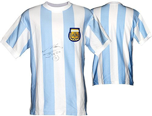 Diego Maradona Signed Jersey - Fanatics Authentic Certified