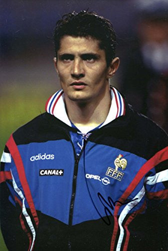 Bixente Lizarazu autograph, In-Person signed photo