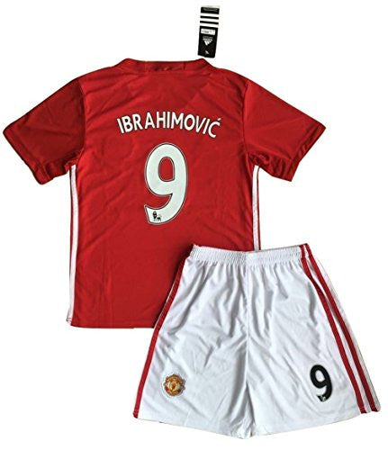 Manchester United FC 2016/2017 'Zlatan Ibrahimovic #9' Home Jersey