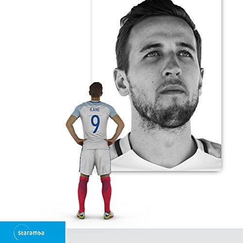 Harry Kane 3d Figurine - The Fa Offensive Home 1:20 (9.4 Cm)