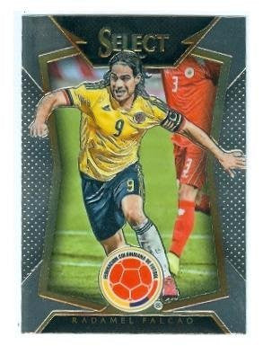 Radamel Falcao Trading Card 2015 Prizm Chrome #75