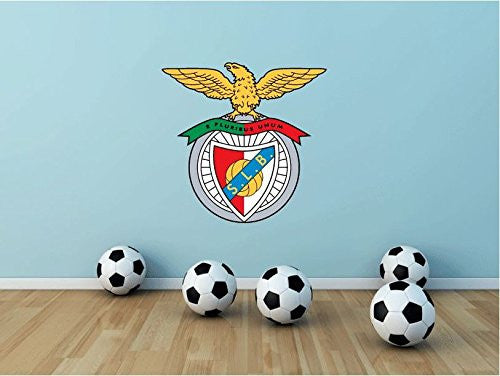 "Benfica FC Wall Decor Sticker 23"" X 22"""