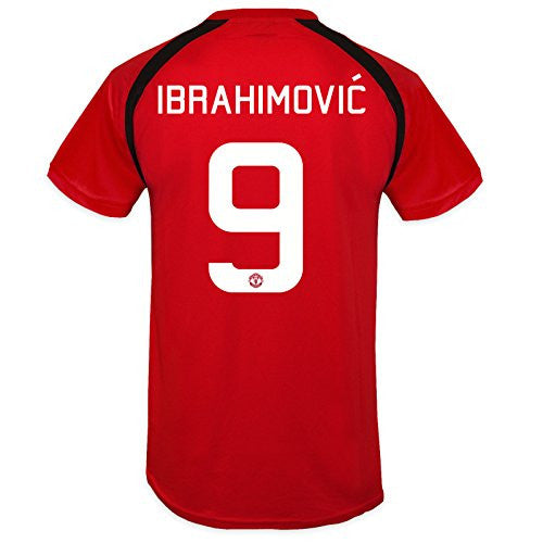 Manchester United FC 'Zlatan Ibrahimovic 9' Red Training T-Shirt